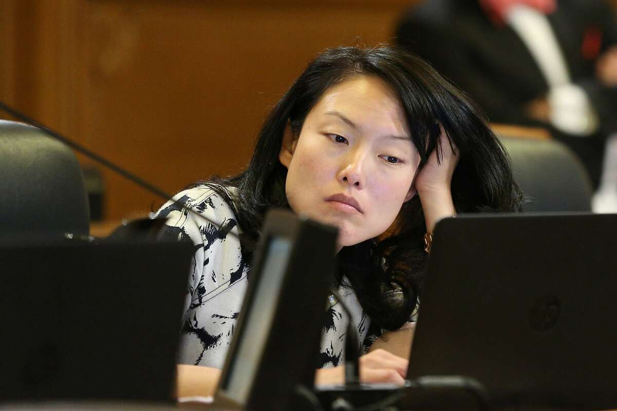 Supervisor Jane Kim, during a Board of Supervisors meeting at City Hall, on Tuesday, Nov. 15, 2016.