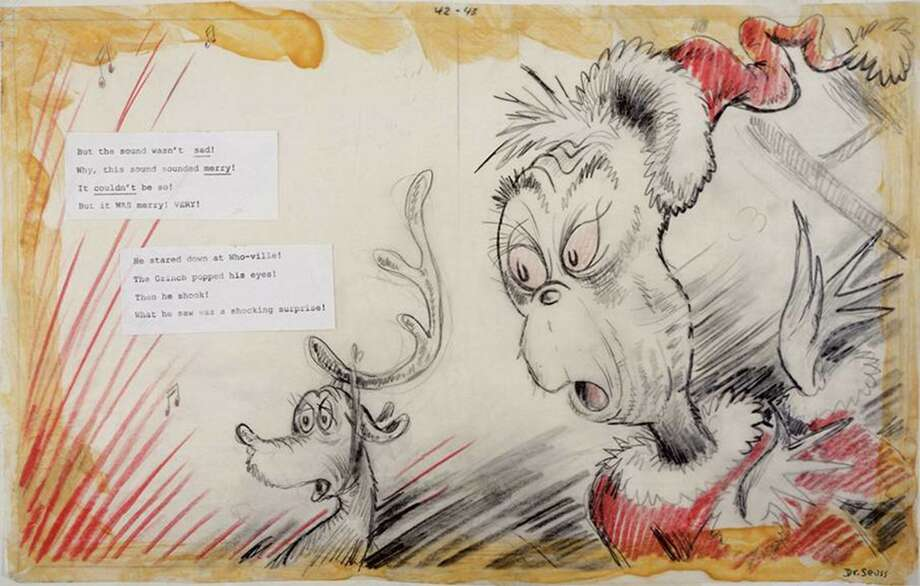 From the new Dr. Seuss exhibit, © 2016 Dr. Seuss Enterprises, L.P. All Rights Reserved. Photo: Contributed /