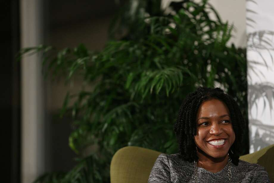 Stacy Brown-Philpot, the CEO of TaskRabbit, on Tuesday, Nov. 15, 2016 in San Francisco, Calif. The talk highlighted Brown-Philpot's career experiences. Photo: Santiago Mejia, The Chronicle