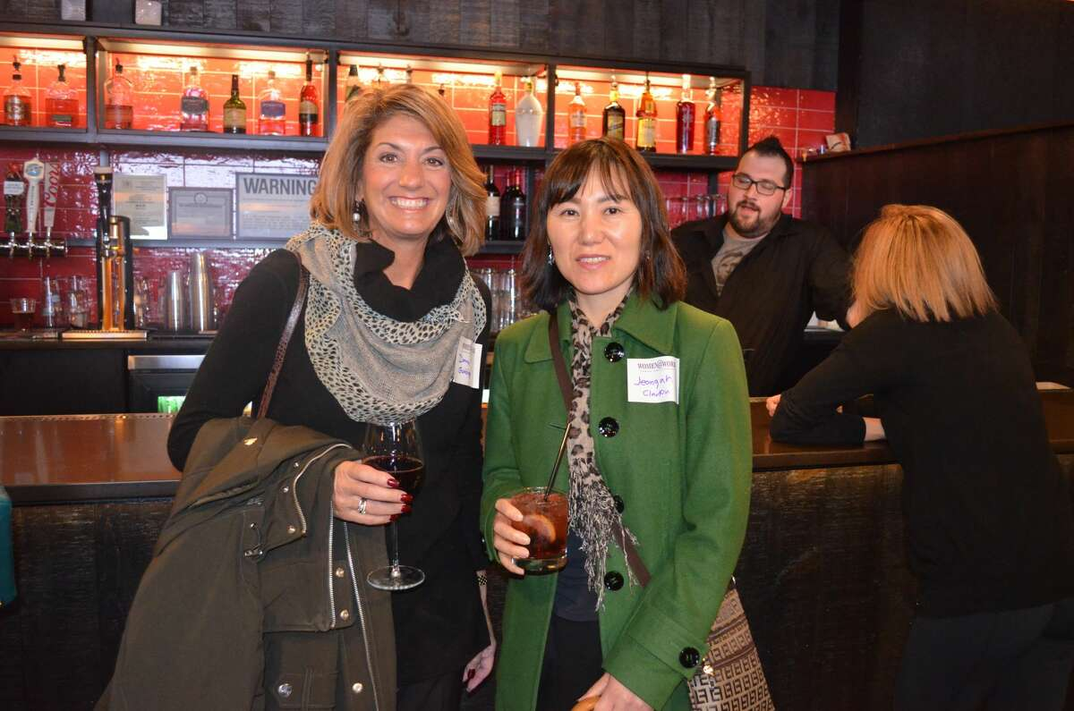 Were you Seen at the Women@Work 'Friends Help Friends Get Ahead' event held at Rascals in Crossgates Mall in Guilderland on Tuesday, November 15, 2016?