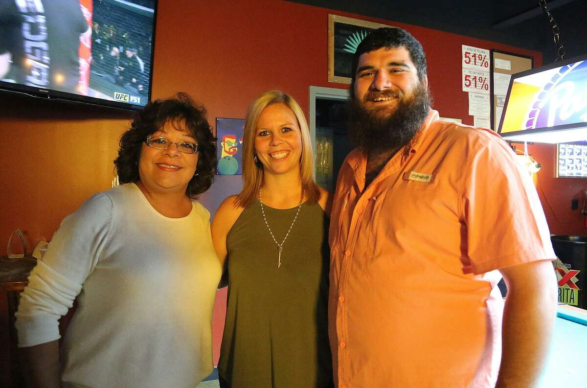 Priscilla Ybarra (from left), Yvette Seipp, and Justin LeBouef.