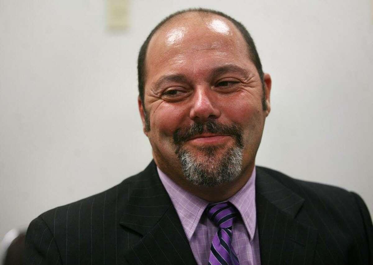 Bassick High School Principal Wayne Alexander