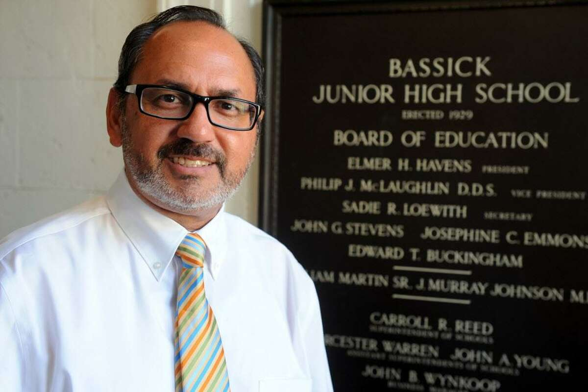 Tomas Ramirez, Principal at Bassick High School.