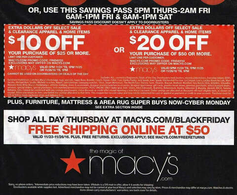 58e2f2fc58cd  p Macy s 2016 Black Friday ad circular was leaked ahead of its official  release