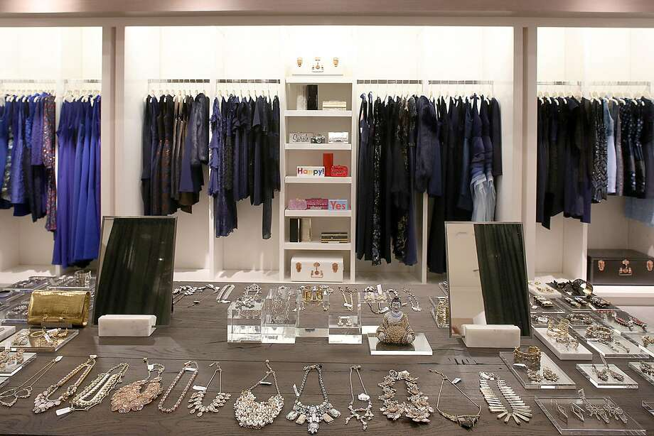 A view of part of the fall collection for Rent the Runway in the downtown Neiman Marcus on Wednesday, November 16, 2016, in San Francisco. It will open this Friday. Photo: Liz Hafalia, The Chronicle