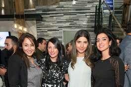 Maryam Ziaei, Sepideh Nasiri, Shadi Saberi and Mahnaz Milani attend Pars Generation+ Election Night Art & Culture Mixer at Cambria Gallery November 8th 2016 at Cambria Gallery in San Francisco, CA