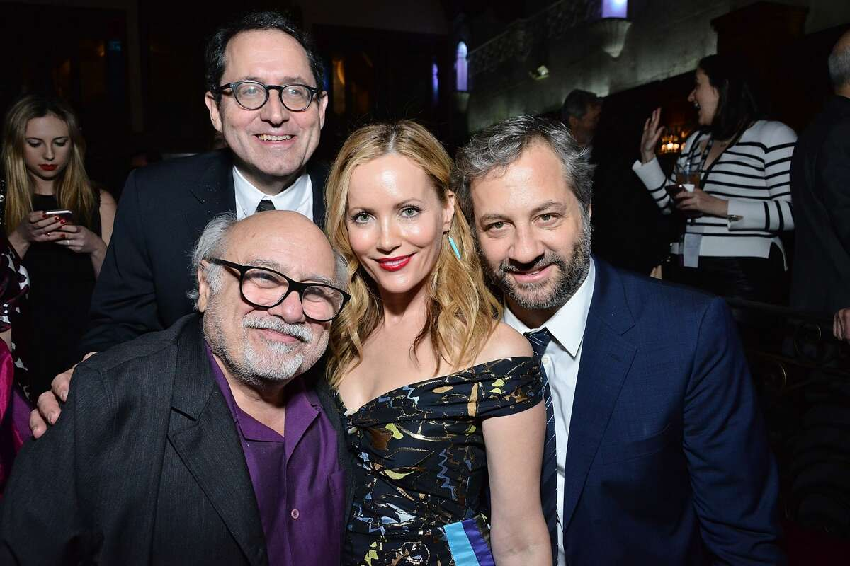 HOLLYWOOD, CA - NOVEMBER 11: Danny DeVito, Tom Rothman, Leslie Mann and Judd Apatow attend the AFI FEST 2016 presented by Audi - Premiere Of Sony Pictures Classics'