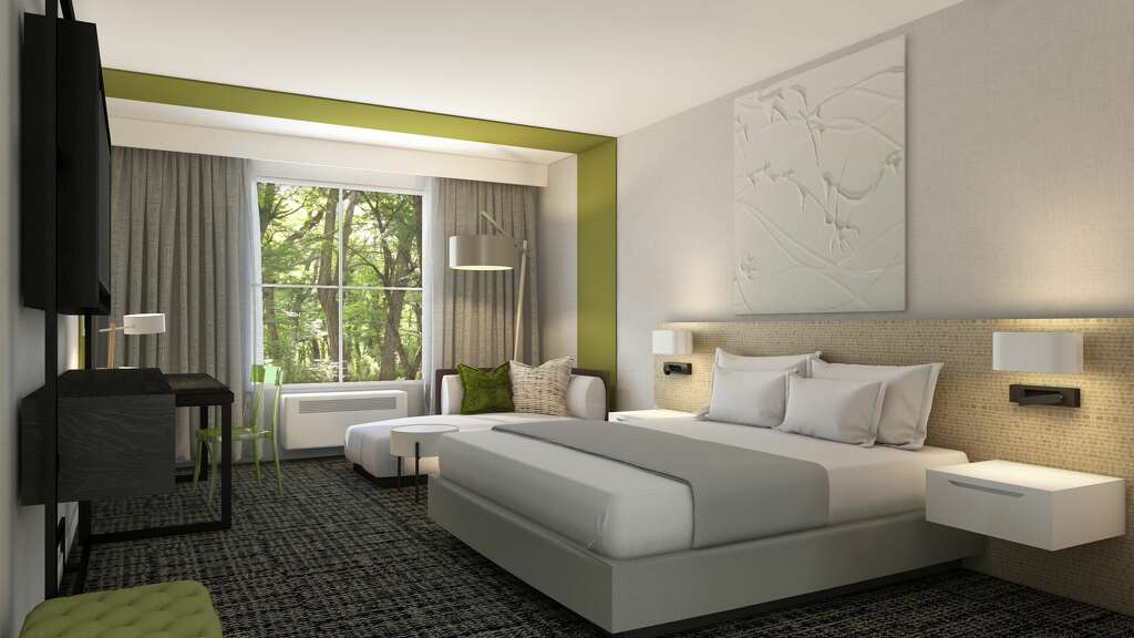 Rendering Of The Interior Hotel Zero Degrees On Milestone Road In Danbury Photo