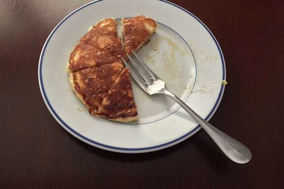 A little sparkling water gives lift to classic buttermilk pancakes.