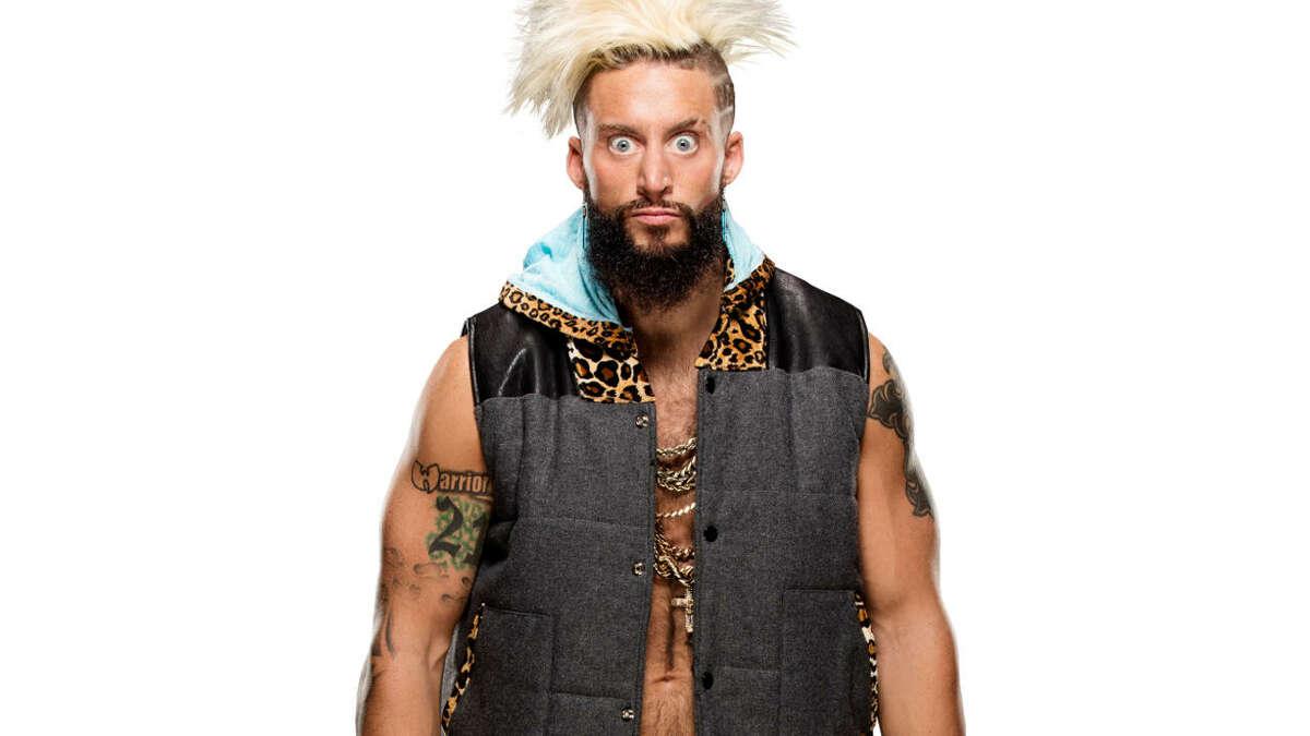 WWE wrestler Enzo Amore.