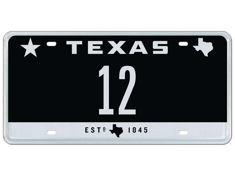 50 vanity texas license plates for auction beaumont enterprise. Black Bedroom Furniture Sets. Home Design Ideas
