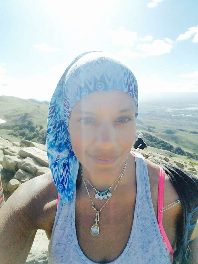 Nicki Pancholy, a resident of Milpitas, was the target of an anti-Muslim hate crime on Monday. Pancholy is not Muslim, and wears a bandana around her head because she has lupus. Photo: Nicki Pancholy / Nicki Pancholy
