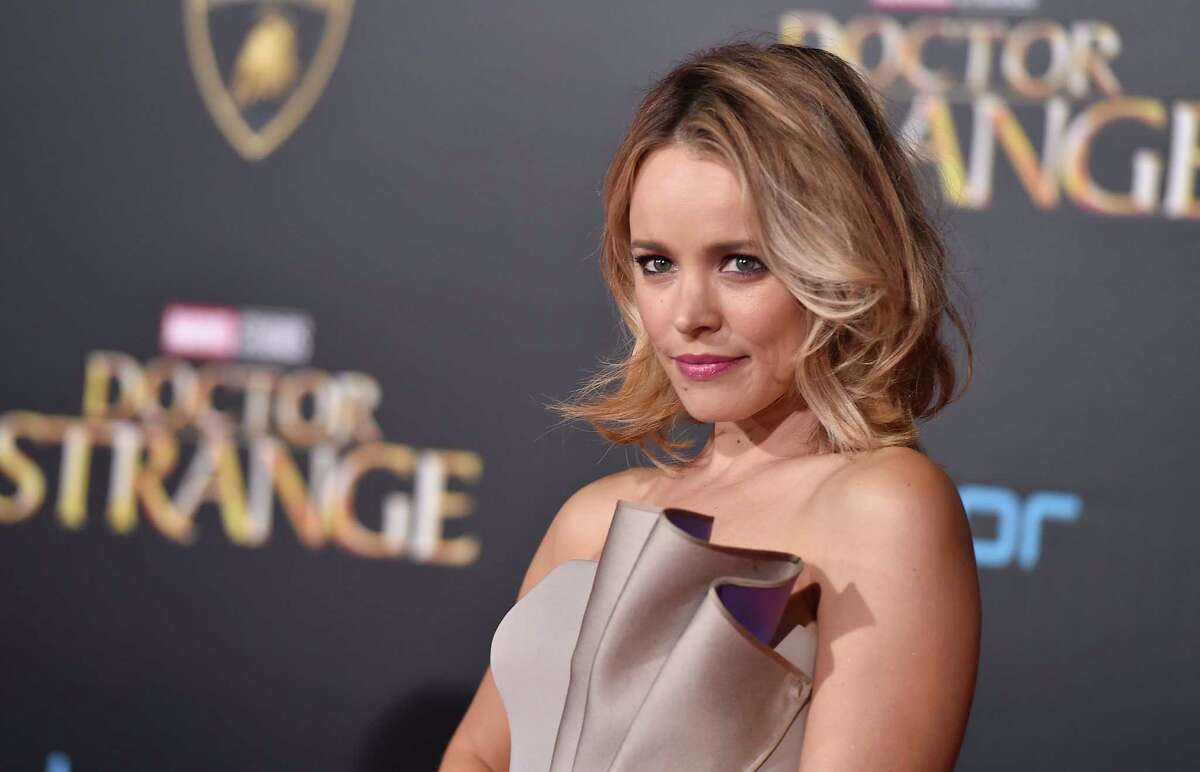 """Rachel McAdams arrives at the Los Angeles premiere of """"Doctor Strange"""" at the TCL Chinese Theatre on Thursday, Oct. 20, 2016. (Photo by Jordan Strauss/Invision/AP) ORG XMIT: CAPM134"""