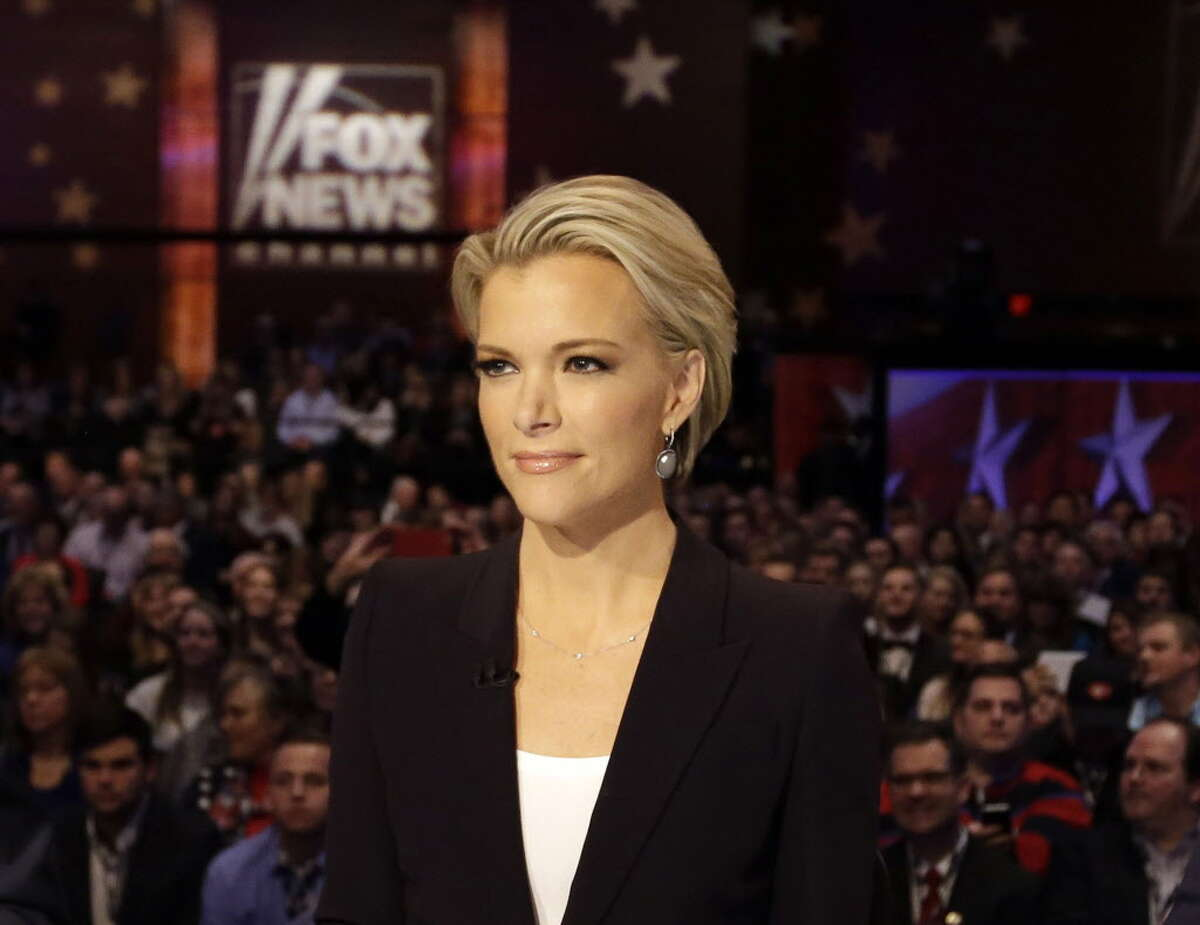 Moderator Megyn Kelly waits for the start of the Republican presidential primary debate in Des Moines, Iowa on Jan. 28, 2016. Former Republican House Speaker Newt Gingrich told Kelly she is ?