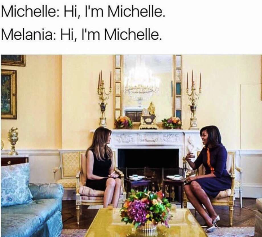 After the presidential election, Michelle Obama memes abounded. Click through this gallery for our favorites. Photo: Twitter Screen Grab