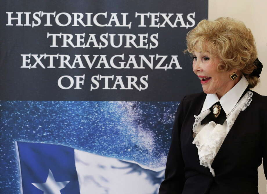 "Joanne King Herring hosts a kick-off party for her ""Historical Texas Treasures Extravaganza of Stars"" super bowl party Wednesday, Nov. 16, 2016, in Houston. Photo: Yi-Chin Lee, Houston Chronicle / © 2016  Houston Chronicle"