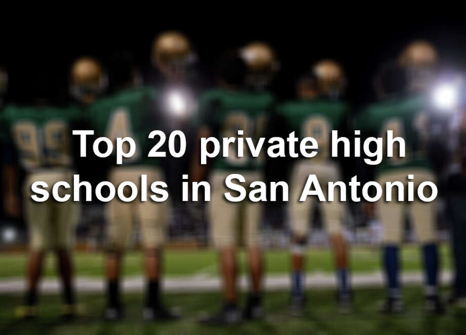 "Quite a few San Antonio private schools earned top spots in Niche's latest ""best schools"" list.Click through the slideshow to view how Niche ranked San Antonio's private high schools for 2018. Photo: File"