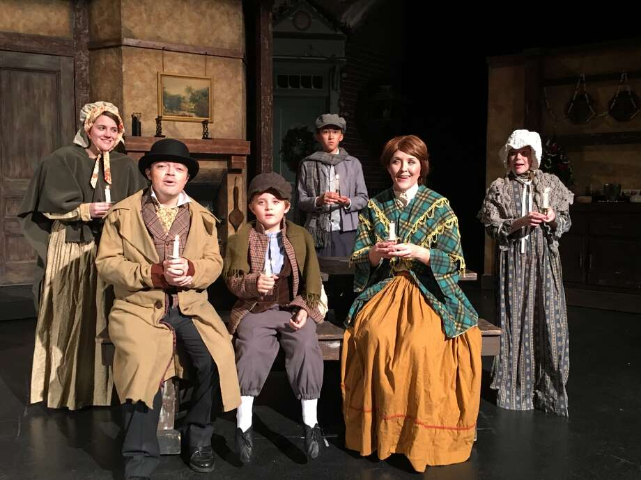 "Don't let Ebenezer Scrooge leave without a proper visit. Midland Community Theatre's 25th production of ""A Christmas Carol"" has four more performances before closing on Sunday. Photo: Courtesy Photo"