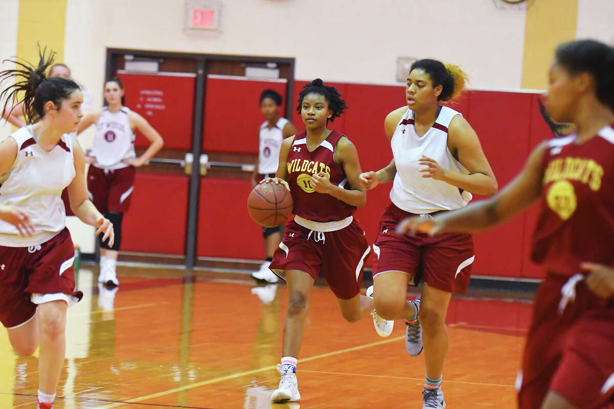 Cy Woods girls basketball scrimmages in practice earlier this week. In recent history, the Lady Wildcats have been a force to be reckoned with in 17-6A, and they start the year as favorites to repeat as district champions.