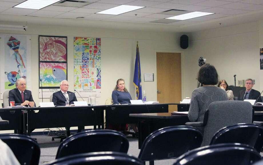 news education meeting brings heated debate