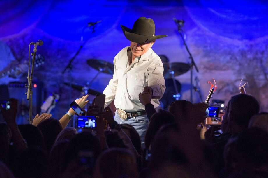George Strait announced an upcoming concert at the Frank Erwin Center in Austin. Photo: Erika Goldring For MCA Nashville