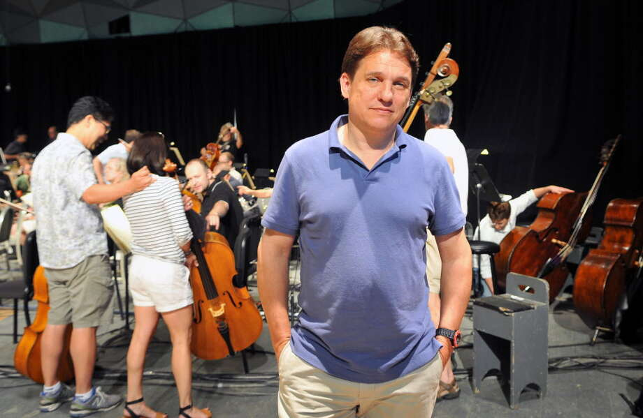 Keith Lockhart, conductor of the Boston Pops, celebrated 20 years with the orchestra during last year's Tanglewood music festival. (Phoebe Sheehan / Special to the Times Union)