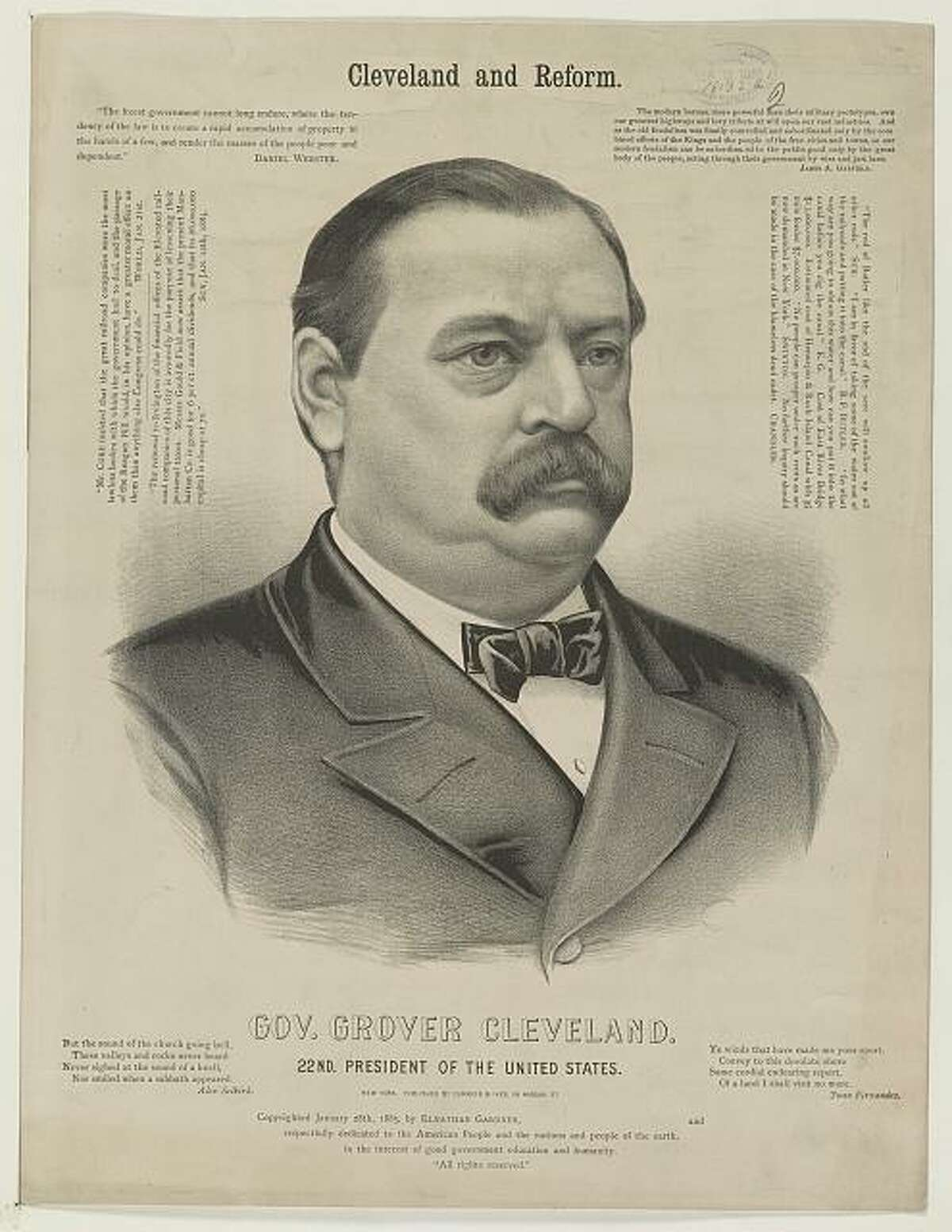 The last Democratic presidential candidate Darien, CT voted for was Grover Cleveland in 1888. Cleveland, the incumbent at the time, lost the election.
