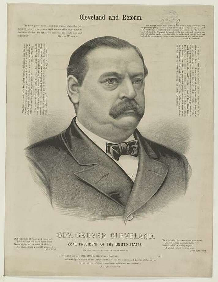 The last Democratic presidential candidate Darien, CT voted for was Grover Cleveland in 1888. Cleveland, the incumbent at the time, lost the election. Photo: Library Of Congress / Contributed Photo / Darien News