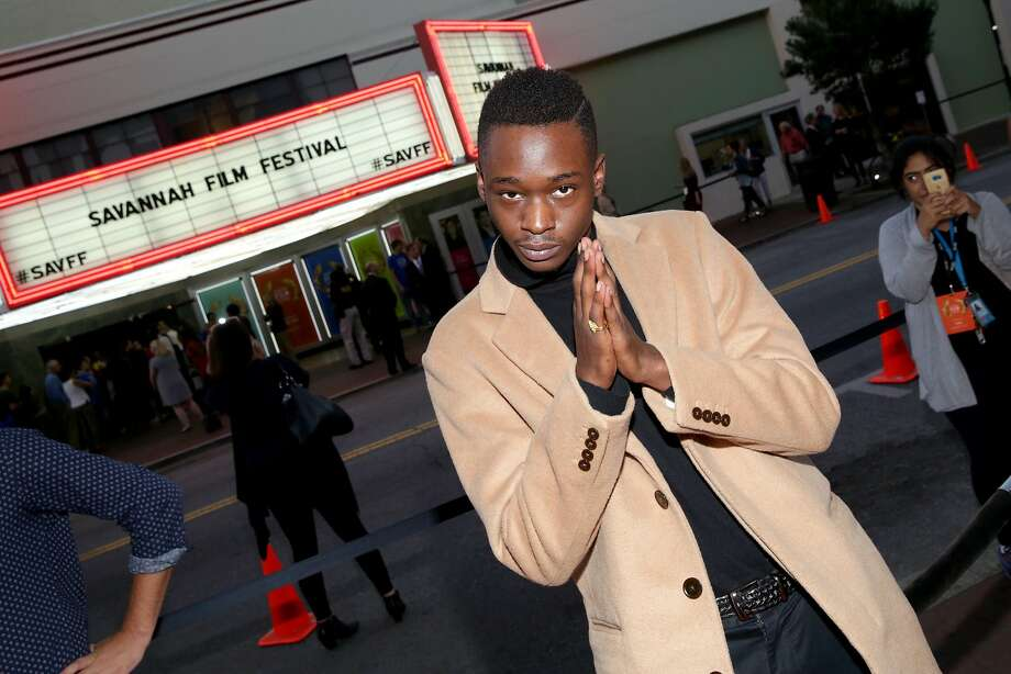"Ashton Sanders, shown at the Savannah Film Festival, plays a gay teen in the surprise hit ""Moonlight."" Photo: Cindy Ord, Getty Images For SCAD"