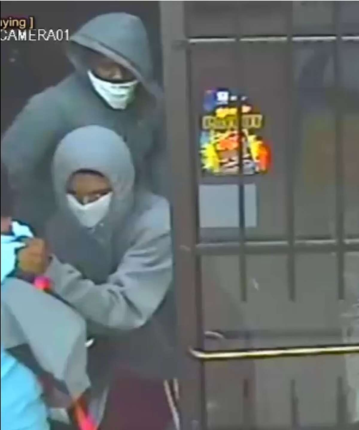 Crime Stoppers and the Harris County Sheriff's Office is searching for two suspects involved in an aggravated robbery involving a deadly weapon. The robbery was at a gas station at 10:55 p.m. on Sept. 18, 2016 on the 3700 block of Greenhouse.