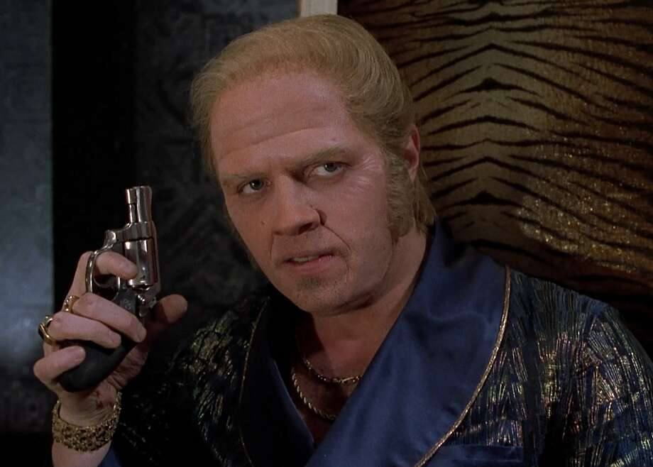 """Biff Tannen, portrayed by Thomas Wilson in """"Back to the Future 2"""" Photo: Universal"""