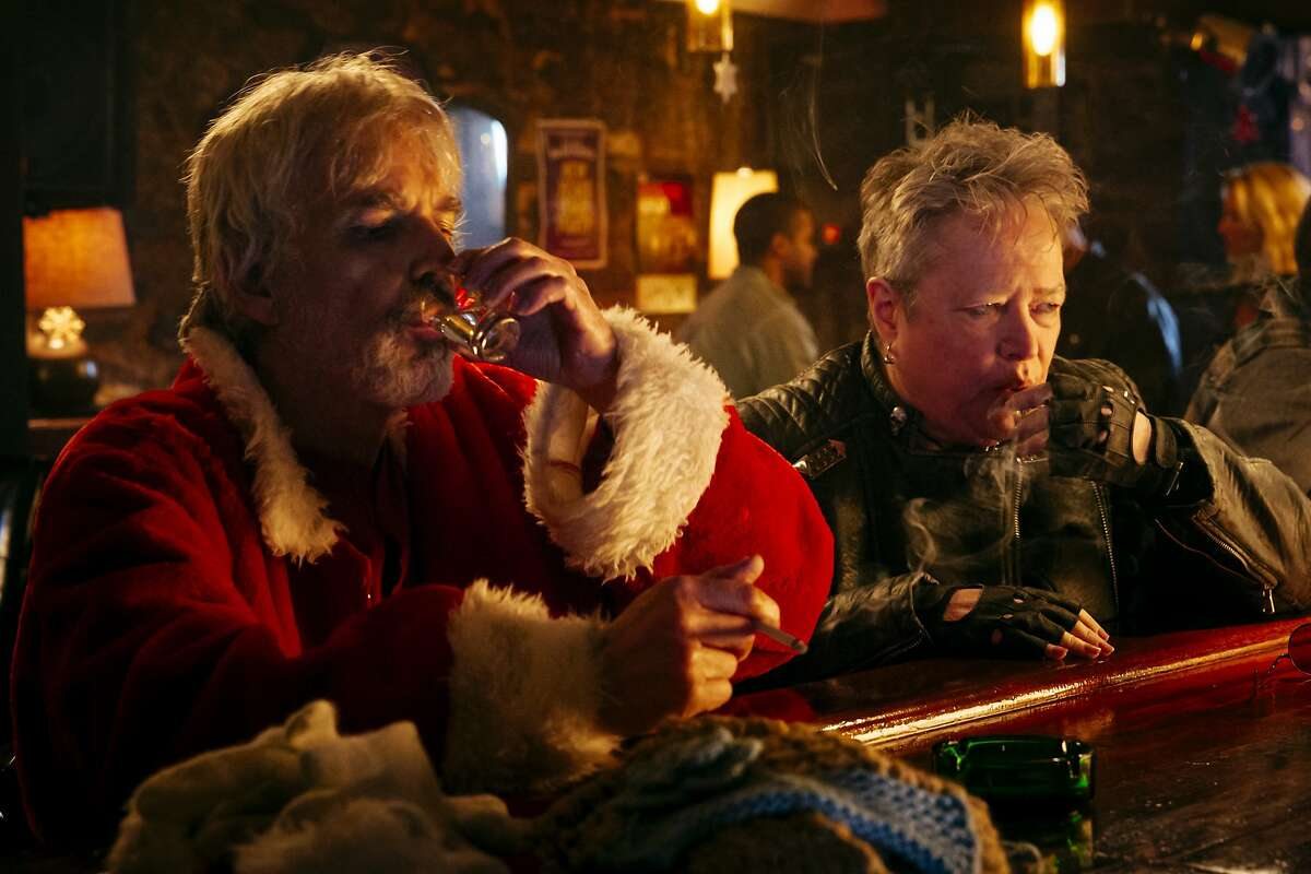 "Billy Bob Thornton and Kathy Bates in ""Bad Santa 2"""