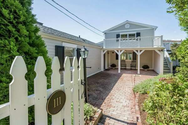 Ron and Julie Malloy's cozy two-bedroom Downs Avenue home in Shippan is on the market for $938,000.
