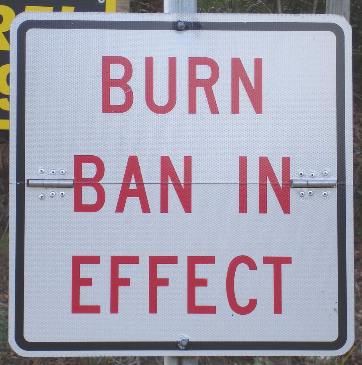 A burn ban is in effect for Liberty County until further notice.