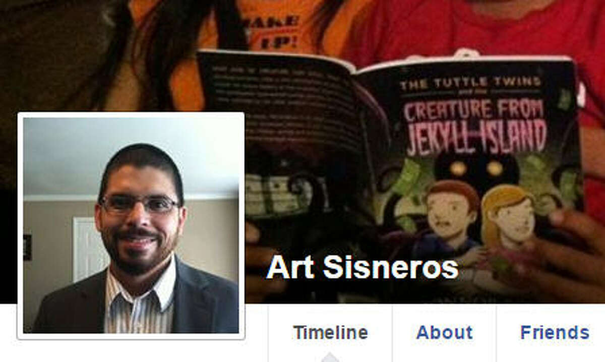 Art Sisneros of Dayton, one of 38 electors representing Texas at the Electoral College, has received hundeds of commewnts on his Facebook page.