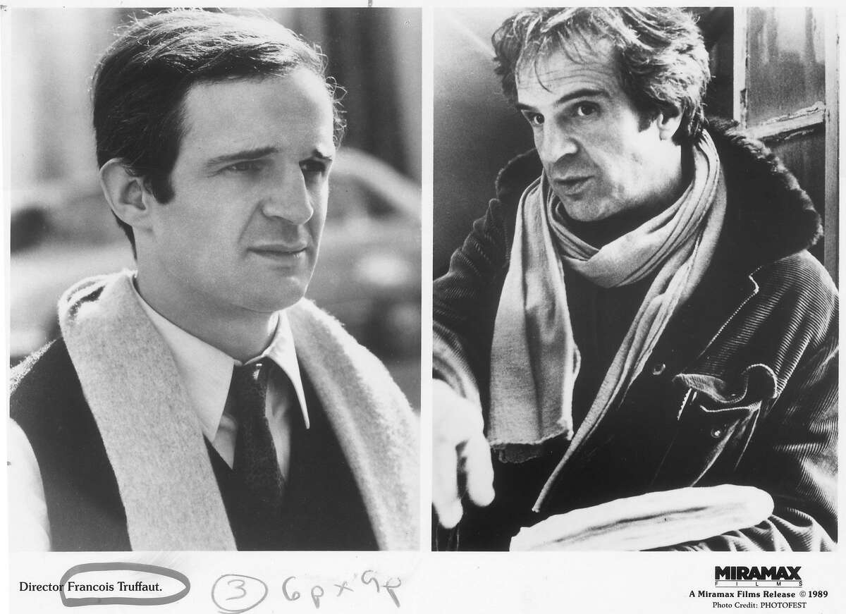1989. Director Francois Truffaut, A Miramax films release c1989. HOUCHRON CAPTION (07/08/1999): ABOVE: ALFRED HITCHCOCK, LEFT, AND FRANCOIS TRUFFAUT HAD GREAT RESPECT FOR ONE ANOTHER.