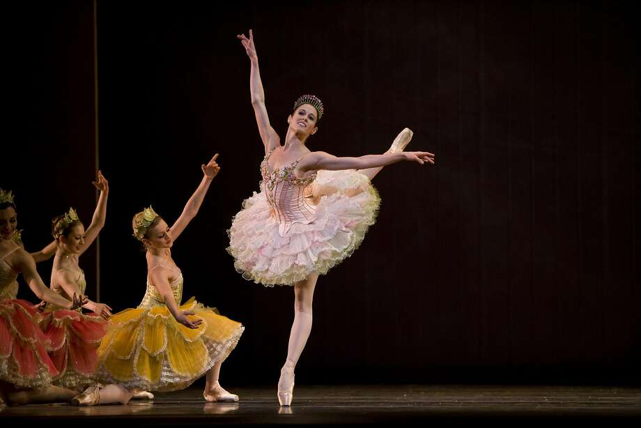 "Vanessa Zahorian as the Sugar Plum Fairy in San Francisco Ballet's ""The Nutcracker.""  Photo: Erik Tomasson"