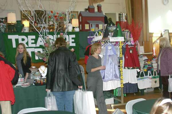 """Christmas on Round Hill,"" a traditional holiday fair, will take place on Dec. 3 from 10 a.m. to 4 p.m.at the Round Hill Community House in Greenwich. Pictured here is a fair from a previous year."
