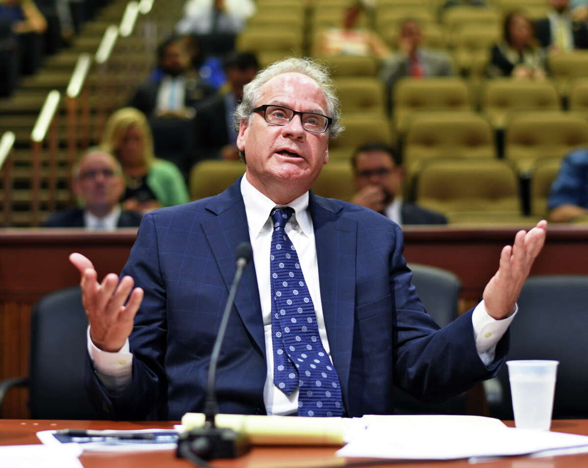 ESD president and CEO Howard Zemsky,testifies during a legislative hearing at the LOB on Gov. Cuomo's economic development programs Wednesday Aug. 3, 2016 in Albany, NY. (John Carl D'Annibale / Times Union)