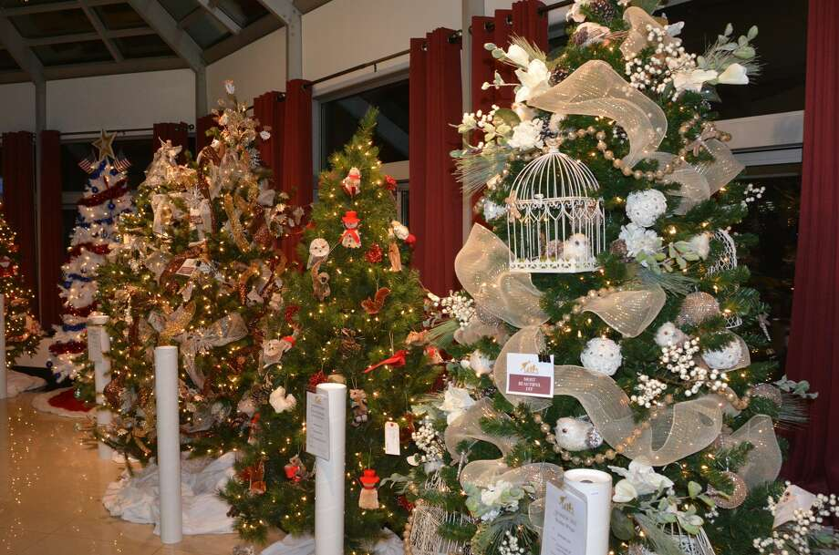 Danbury's annual Festival of Trees runs fromThursday, throughSunday.Find out more. Photo: Vic Eng / Hearst Connecticut Media Group