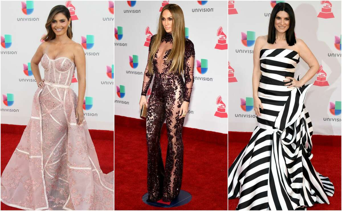 >>Keep clicking for our list of best and worst dressed at the 2016 Latin Grammy Awards.