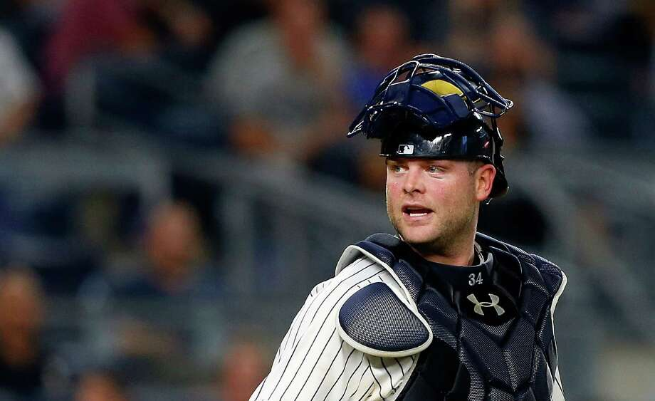 Lefthanded-hitting Brian McCann caught in 92 of the 130 games in which he appeared last season for the Yankees. Photo: Jim McIsaac, Contributor / 2016 Jim McIsaac