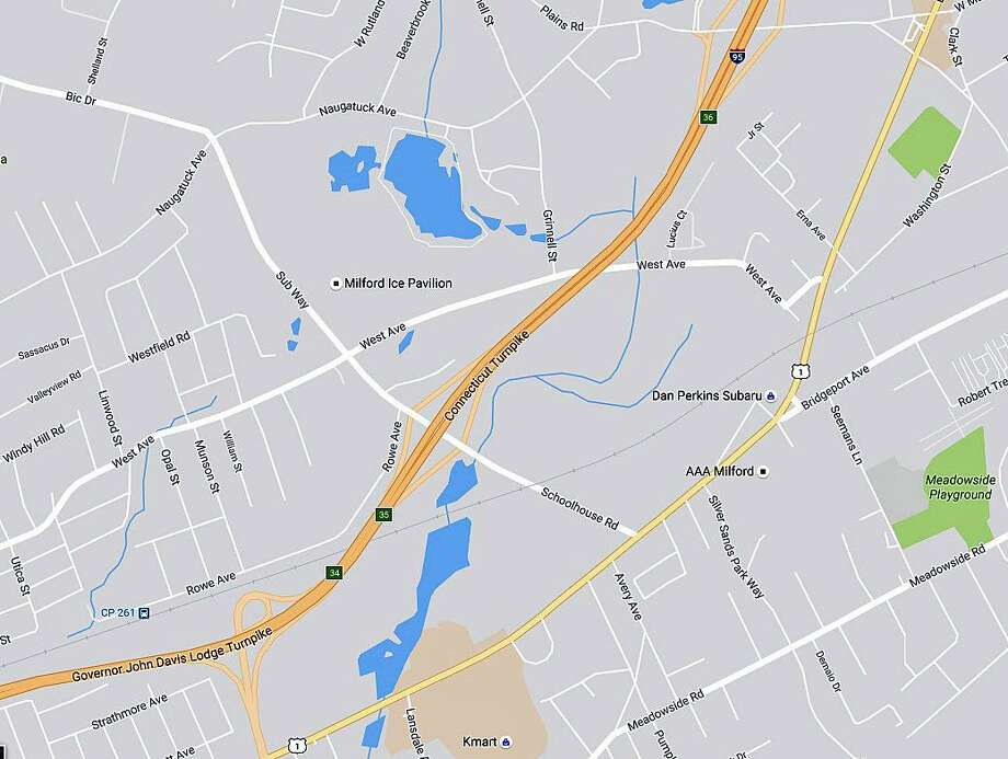 Traffic Map 95.I 95 Exit To Be Closed In Milford Connecticut Post
