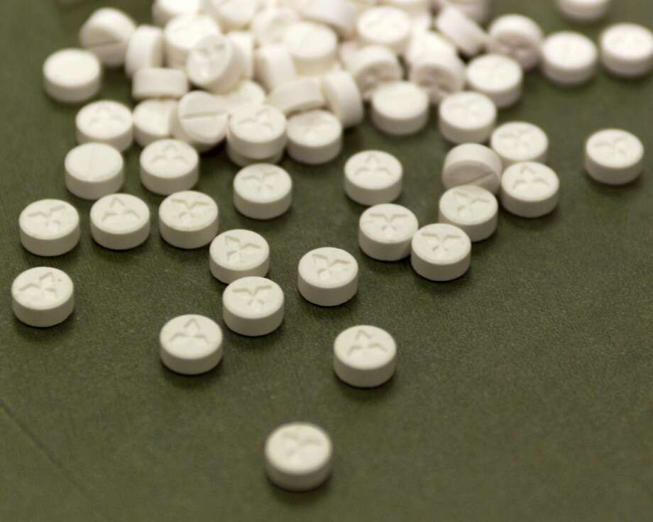 Tablets of MDMA, or ecstasy, were found by U.S. agents in a package sent from the Netherlands. Photo: Contributed Photo, Courtesy Of U.S. Customs/Newsmak
