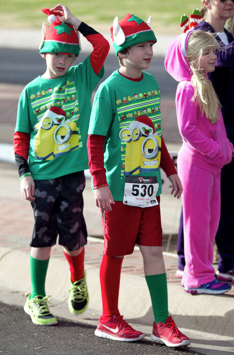 15th annual Jingle Bell Run to benefit Junior Achievement of Permian Basin. Photo: James Durbin