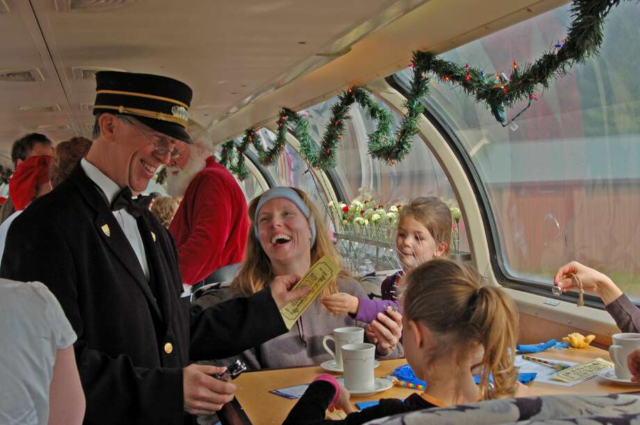 Now through Dec. 23, the train trip brings the magical story of The Polar Express to life with a one-hour round-trip journey to the North Pole. Photo: Courtesy Photo