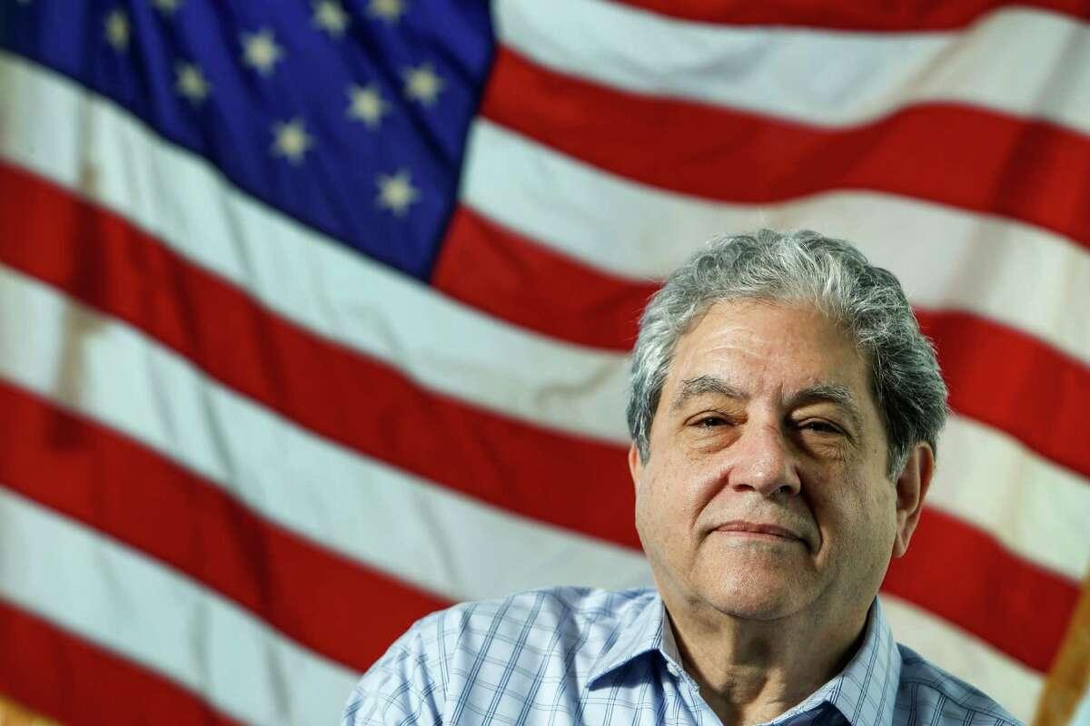 Jim Sacher, who is retiring as regional attorney of EEOC, poses for a portrait on Tuesday, Nov. 15, 2016, in Houston. ( Brett Coomer / Houston Chronicle )