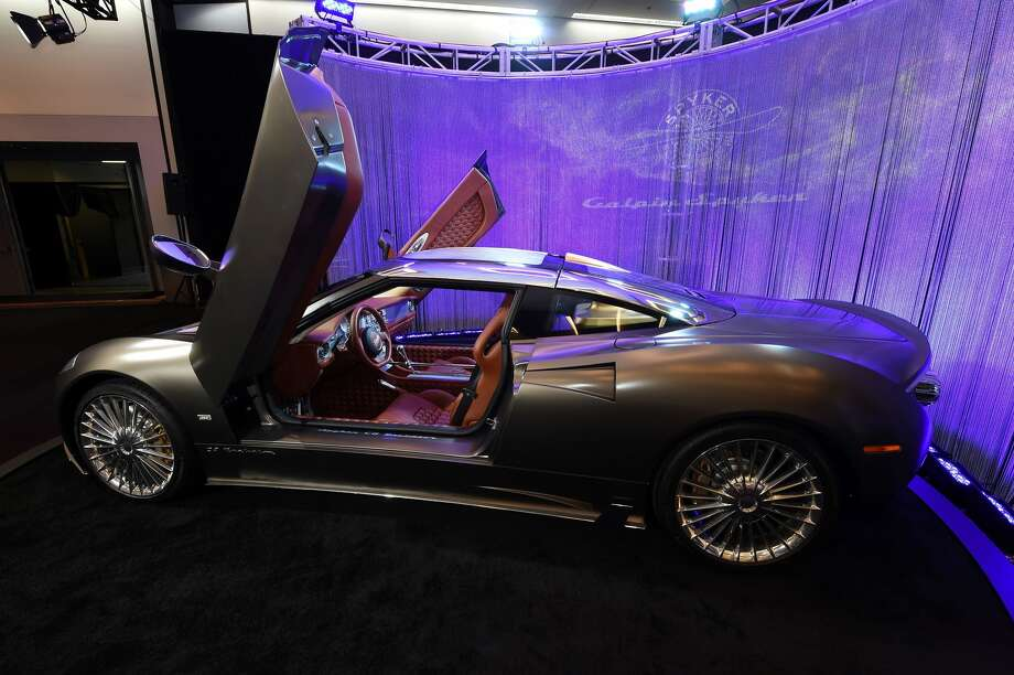 The Spyker C8 Preliator is displayed at the Los Angeles Auto Show, November 17, 2016 in Los Angeles, California. / AFP / Robyn Beck        (Photo credit should read ROBYN BECK/AFP/Getty Images) Photo: ROBYN BECK/AFP/Getty Images