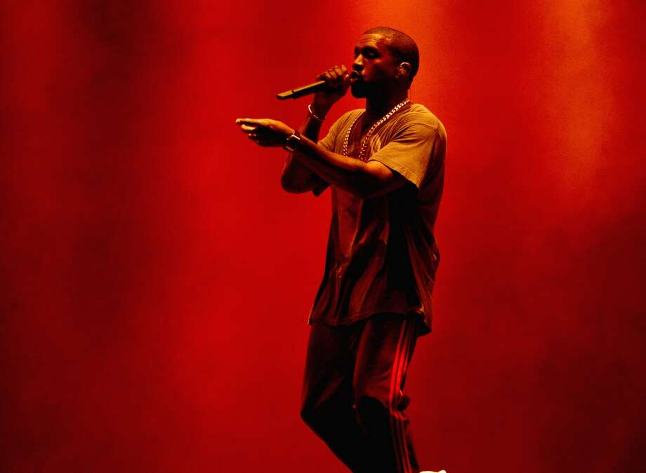 Recording Artist Kanye West performs onstage during The Meadows Music & Arts Festival Day 2 on October 2, 2016 in Queens, New York.