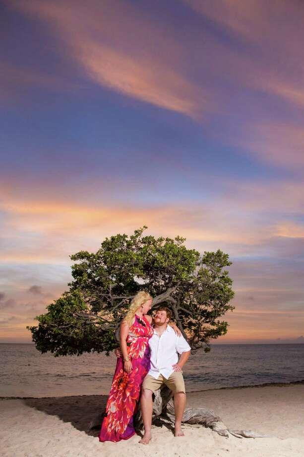 Lauren Bergren andTyler Gore Photo: Contributed Photo / One Happy Photographer